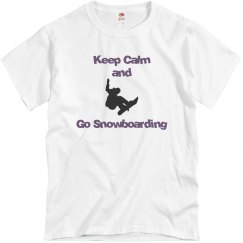 Keep Calm and Snowboard