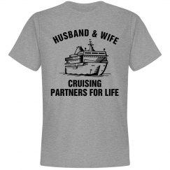 t-shirt Cruising Partners for LIFE Husband & Wife