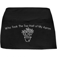 who took half my apron