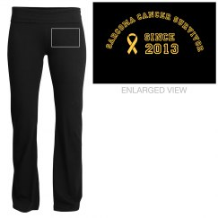 Sarcoma Yoga Pants