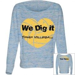 Sports:Volleyball DigTeam