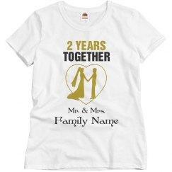 Custom Anniversary Shirt