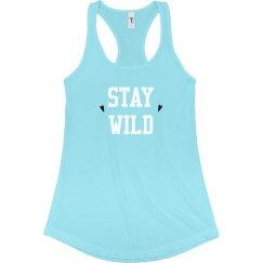 Womens Stay Wild Tank