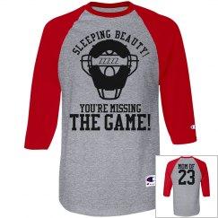 Baseball Mom Umpire Heckler Funny Custom Jersey