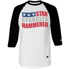 Hammered Spangled Stars
