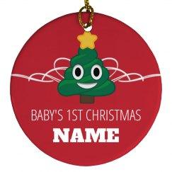 Custom Name Baby's 1st Christmas