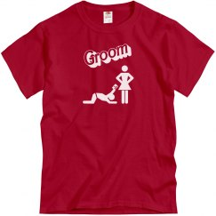 Groom - Giving it up - Red