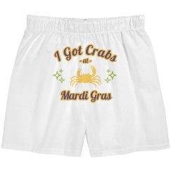 Mardi Gras Crabs