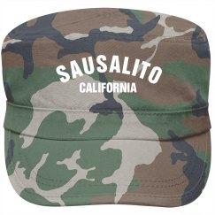 Sausalito California Cap