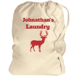 Laundry bag with name 2