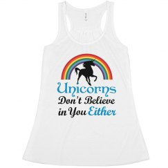 Unicorns - Believe tank blue