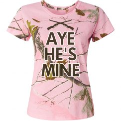 Aye He's Mine Rifle