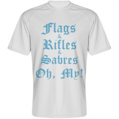 Flags & Rifles & Sabres, Oh, My! (Knight Design)