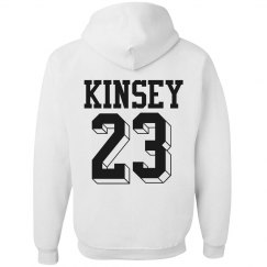 Trendy Football Girl Hoodies
