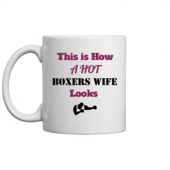 How boxers wife looks