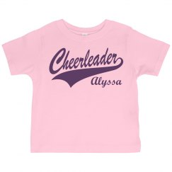 Alyssa's Cheer Fan Design
