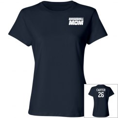 Custom Baseball Mom Shirt