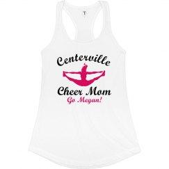 Megan's Proud Cheer Mom