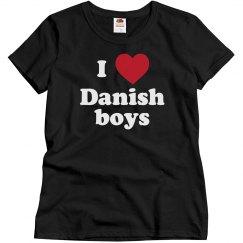 I love Danish Boys