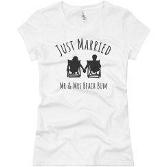 Mr & Mrs Beach Bum