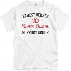 New member for 30 year olds