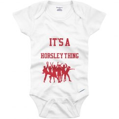 Horsley thing onesie