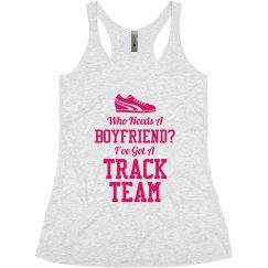 Girl's Track Team Love