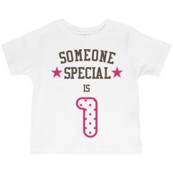 Someone special is one