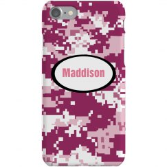 Custom Camo iPhone Case