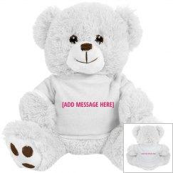 Adorable Stuffed Bear