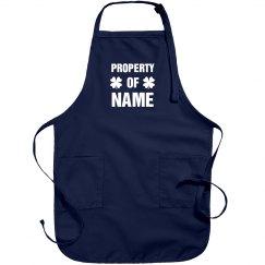 Custom Property Of Irish Apron