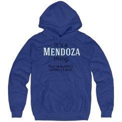 Its a Mendoza thing