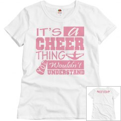 Cheer thing, flyer