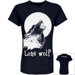 Wolf Howling Moon Shirt