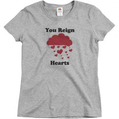 You reign hearts