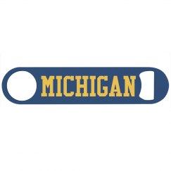 Michigan Football Bottle Opener