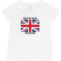 British baby on board