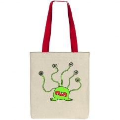 Alien - Cotton Canvas Tote Bag