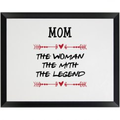 ALL ABOUT MOM PLAQUE