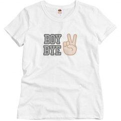 Boy Bye Two Fingers