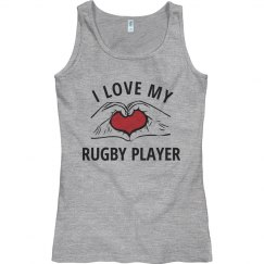 I love my rugby player