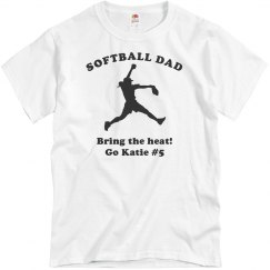 Softball Dad Pride