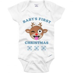 Baby's First Christmas Emoji