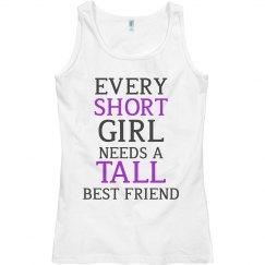 Short Girl - Tall Girl