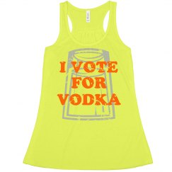 Yellow Vote For Vodka