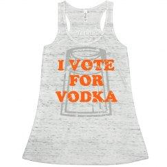 Yellow Vote For Vodka