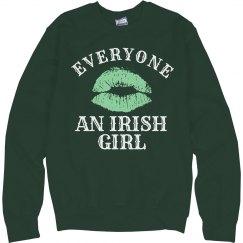 Love an Irish Girl St Patricks