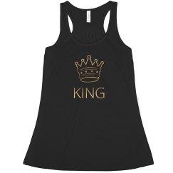 King metallic shirt