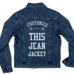 Custom Trendy Jean Jacket