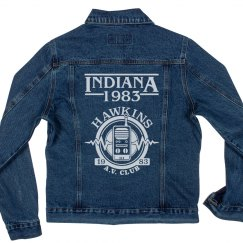 Hawkins, Indiana AV Club Jacket